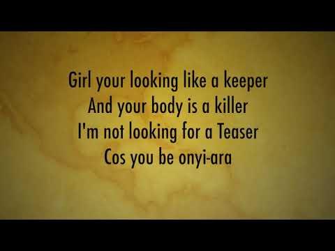 One Naira Lyrics Video