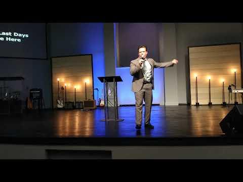 "THE LAST DAYS ARE HERE"":BRO. JOSH HERRING, DALLAS FIRST CHURCH UPCI"