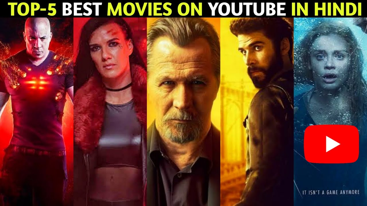 Top 5 Hindi Dubbed Hollywood Movies Available On YouTube | Part 100