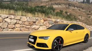 Sick and Tuned Audi RS7 720hp going crazy and drifting with Supersprint exhaust