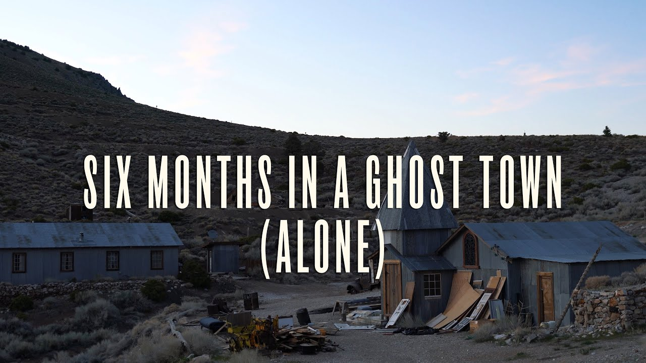 6 Months Alone In An Abandoned Ghost Town