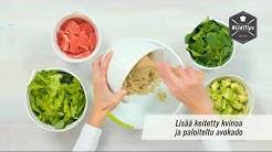 Tofu-kvinoasalaatti|Lidl Suomi