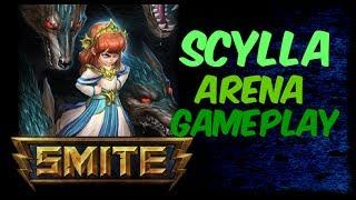 SMITE Scylla Gameplay - Monster God in Arena
