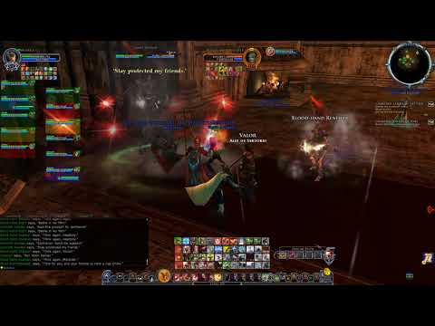 The Lord of the Rings Online OD Mumakill t2c let's play Warden
