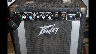 Peavey Audition 20 12 Watt guitar amp gets over drums with ease
