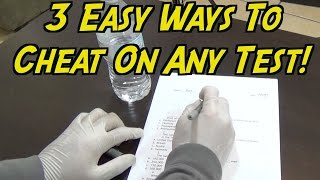 3 Easy Ways To Cheat On Any Test (Never Fails) HOW TO CHEAT