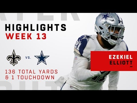 download Ezekiel Elliott Leads the Upset w/ 136 Total Yards & 1 TD!