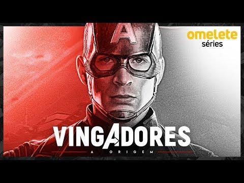 VINGADORES: A HISTÓRIA DO CAPITÃO AMÉRICA