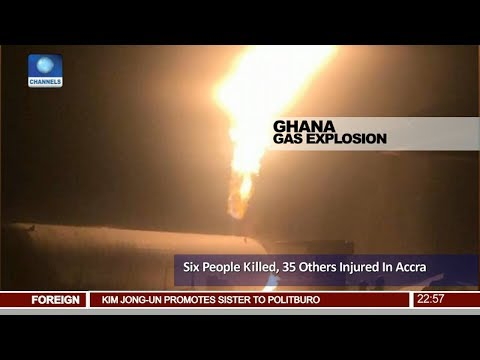 Six People Killed, 35 Others Injured In Accra Ghana Pt.4 |News@10| 08/10/17