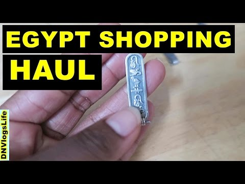Shopping Haul from EGYPT | Jewelry, Home Decor, Perfumes, Egyptian Art