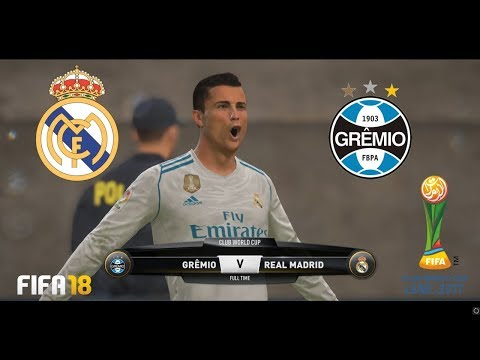 Final FIFA Club World Cup 2017 - Real Madrid vs Gremio - Zayed Sports City Stadium - FIFA 18