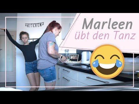 Marleen übt den komischen Tanz / Mares etwas beibringen / 27.6.18 / FRAU_SEIN
