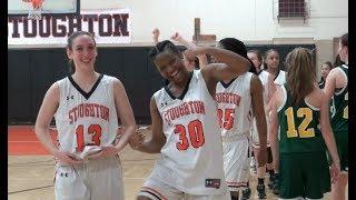D2 South Playoff Highlights: Stoughton High Girls Basketball vs Dighton-Rehoboth (2-27-18)