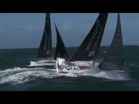 Navigation en Figaro 3, Bretagne-CMB