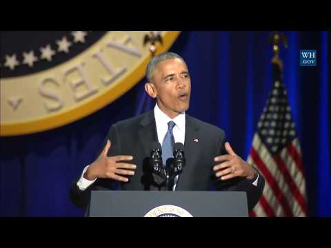 President Obama -  Farewell Address to the American People