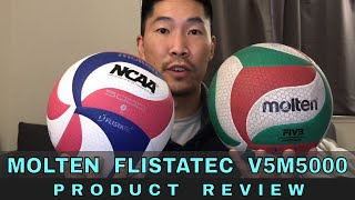 Molten Flistatec V5M5000 Volleyball REVIEW (Ask Coach Donny - What Volleyball Should I Buy?)