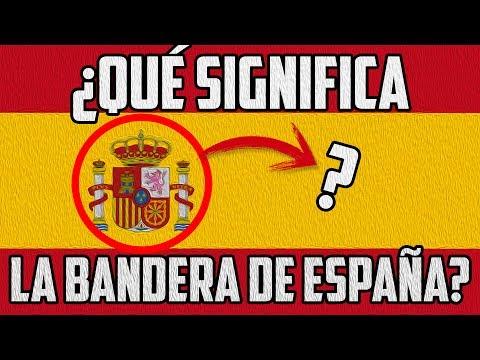 Bandera y escudo de espana significado