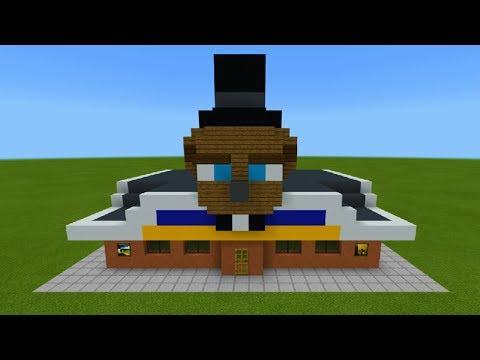 Minecraft: How To Make FIve Nights At Freddys FNAF Fazbear Pizzeria