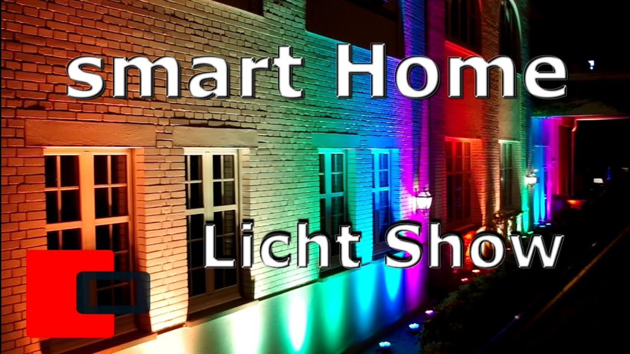 smart home automation fassadenbeleuchtung rgb licht. Black Bedroom Furniture Sets. Home Design Ideas