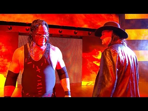 The Undertaker and Kane stand together, moments after SmackDown LIVE: Nov. 15, 2016