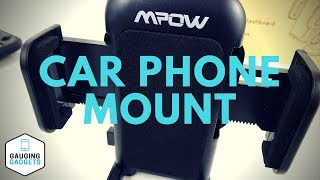 Mpow Car Phone Mount Review