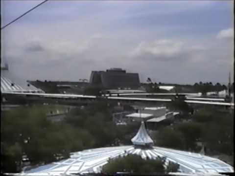 Walt Disney World Skyway 1991 - Fantasyland To Tomorrowland