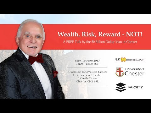 Dan Peña Speaks at the University of Chester On: WEALTH, RISK, REWARD - NOT!