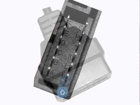 GM 12 PIN To 16 PIN OBD2 Connector Adapter Car