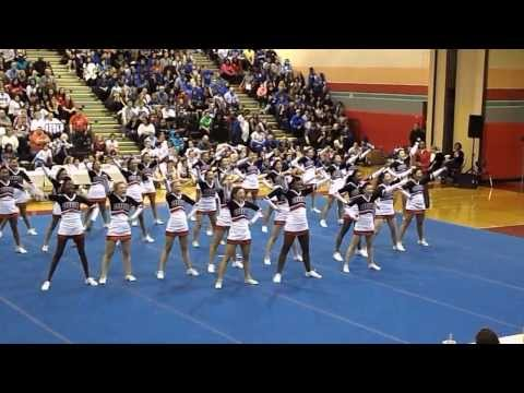 Quince Orchard High School cheerleading competition 2013