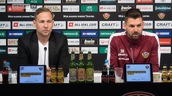 12. Spieltag | VFB - SGD | Pressekonferenz vor dem Spiel