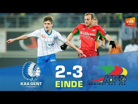🎬KAA Gent - KV Oostende (2-3)