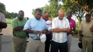 Prayer for Suffragan Bishop Leroy Horn from P.A.W. Golfers.AVI