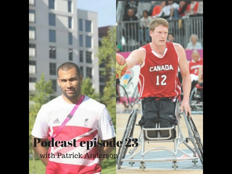 Insight into wheelchair basketball with Patrick Anderson - Podcast episode 23