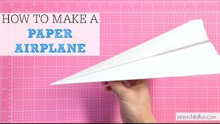 How Make Paper Airplane Easy