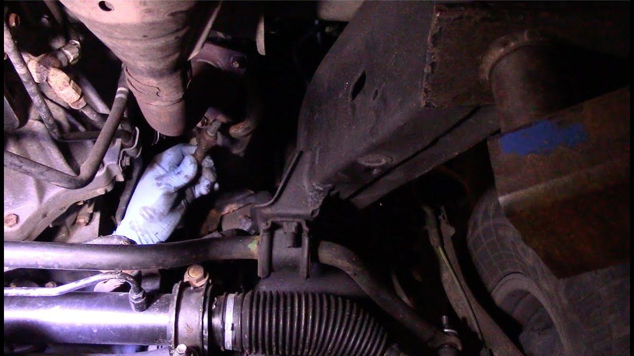 Toyota Tundra 2000 2006 Oxygen Sensor Replacement P0135 P0136 P0155 P0156 P0051 Youtube
