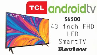 "TCL S6500 43"" Android Smart LED TV Review (தமிழில்)"