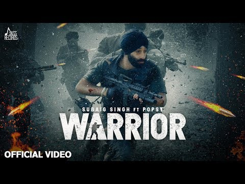 Warrior | (Official Video) | Subaig Singh Ft.Popsy | New Punjabi Songs 2020 | Jass Records
