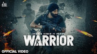 Warrior Official Subaig Singh Ft Popsy New Punjabi Songs 2020 Jass Records