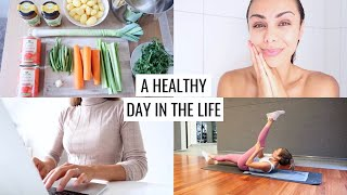 A HEALTHY DAY IN THE LIFE  Vlog #50  Annie Jaffrey