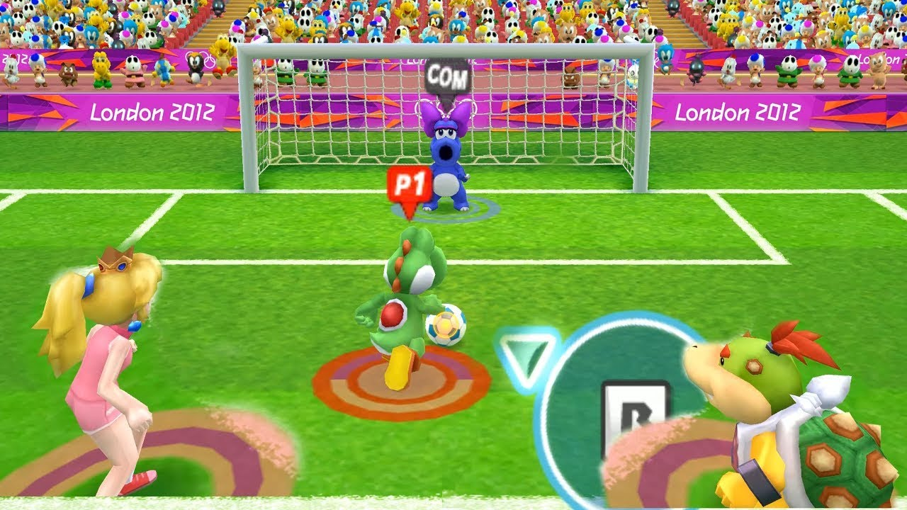 mario  sonic at the london 2012 olympic games  team