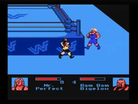 WWF King of the Ring NES Gameplay - LJN