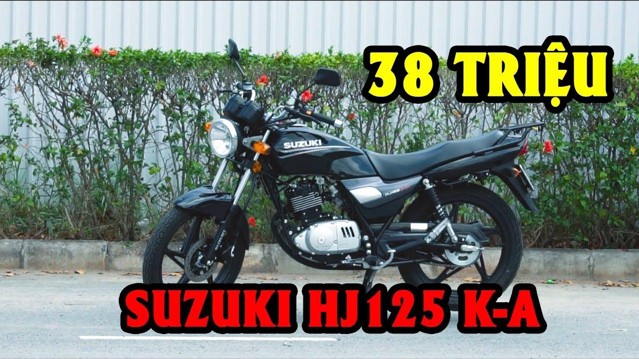 SUZUKI HJ125 K-A – XE TAY CÔN 125cc GIÁ RẺ CHỈ 38 TRIỆU | Vãnh Vlog