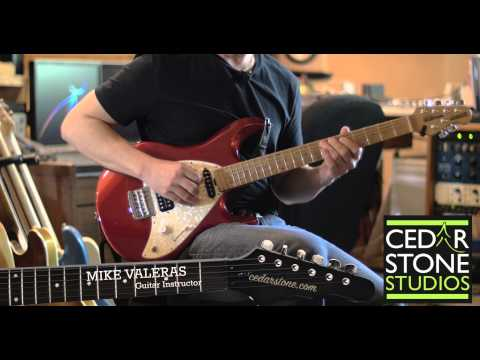 A Blues Scale Frets 5-17 - Cedarstone School of Muisc