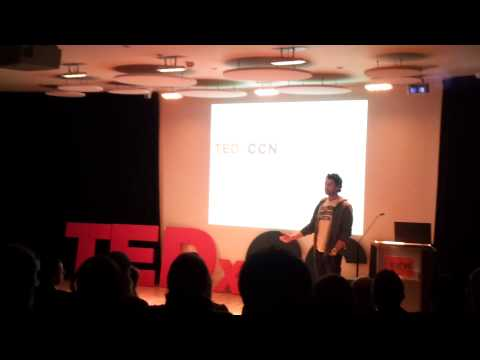 Charley Johnson talking at TEDxCCN Norwich 2012