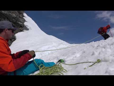 Roping Into A Ski Line - Ski Mountaineering Tips Ep.5