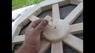 видео деревянное колесо своими руками