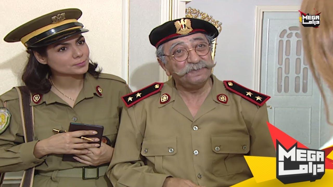 غوار متنكر بلبس شرطة الملازم دعدش ههههههههه - مسلسل الاصدقاء - دريد لحام