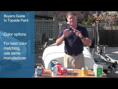 Buyer's Guide to Topside Paint