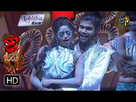 Rahul and Dharsini Performance | Dhee Jodi | 19th April 2017 | ETV Telugu