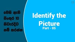 Identify the Picture - Part 05 | Shanethya TV